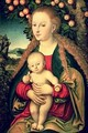 Virgin and Child under an Apple Tree - Lucas The Elder Cranach
