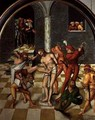 The Flagellation of Christ - Lucas The Elder Cranach