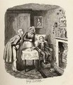 Oliver recovering from the fever - George Cruikshank I