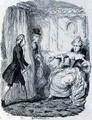 Awkward Situation of Lady Bellaston - George Cruikshank I