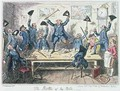 The Battle of the Nile - George Cruikshank I