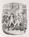 Squire Western Seizing Jones at Upton - George Cruikshank I