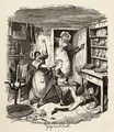 Oliver plucks up a spirit - George Cruikshank I