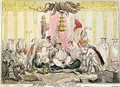 The Court at Brighton a la Chinese - George Cruikshank I