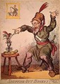 Snuffing out Boney - George Cruikshank I