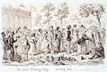 Mayhews Great Exhibition of 1851 The First Shilling Day Coming Out - George Cruikshank I