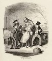 Mr Fagin and his pupil recovering Nancy - George Cruikshank I