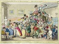 A Swarm of English Bees Hiving in the Imperial Carriage 2 - George Cruikshank I