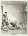Jack visits his mother in Bethlehem Hospital London - George Cruikshank I