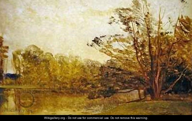 View in Painshill Park Surrey - Thomas Creswick