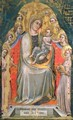Madonna and Child Enthroned with Angels - Simone dei Crocifissi