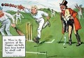 When in the opinion of the Umpire six balls have been bowled he shall call Over - Charles Crombie