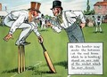 The bowler may make the batsman at the end from which he is bowling stand on any side of the wicket which he may direct - Charles Crombie
