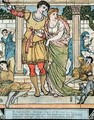 The Prince rescuing the princess - Walter Crane