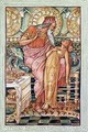 King Midas and his Daughter Turned to Gold - Walter Crane