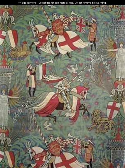 England and France - Walter Crane