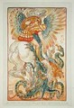 Bellerophon fighting the Chimaera - Walter Crane