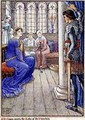 Sir Owen Greets the Lady of the Fountain - Walter Crane