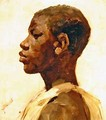 Head of a Negro - Joseph Crawhall