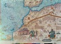 Detail from the Catalan Atlas 2 - Abraham Cresques