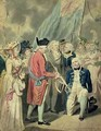 Admiral Collingwood 1750-1810 Receiving the Silver Sword - Isaac Cruikshank