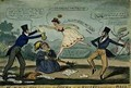 MRCN TIs Leap from the Opera or The Ballet Turned into a Ball - Isaac Robert Cruikshank