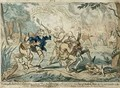 All Among the Hottentots Capering Ashore - George Cruikshank I