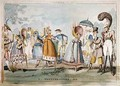 Monstrosities of 1818 - George Cruikshank I
