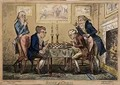 Game of Chess - George Cruikshank I