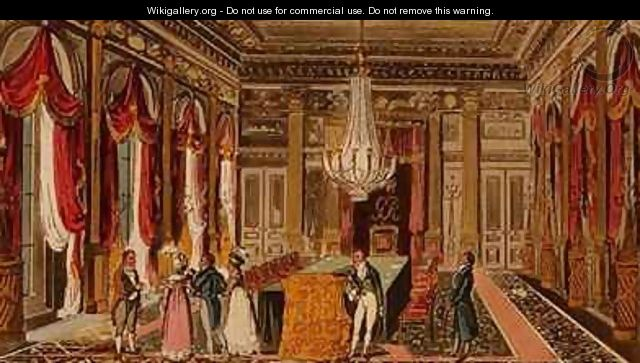 Tom Jerry and Logic visiting Carlton House - I. Robert and George Cruikshank