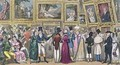 A Shilling Well Laid Out Tom and Jerry at the Exhibition of Pictures at the Royal Academy - I. Robert and George Cruikshank