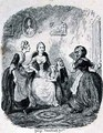 Mrs Ellisons Rage upon Finding herself Detected - George Cruikshank I