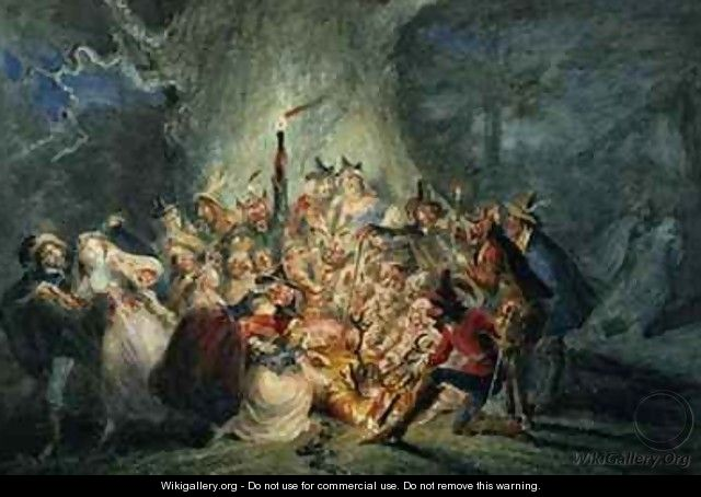 The Merry Wives of Windsor - George Cruikshank I