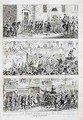 Jacks journey from Newgate to Tyburn - George Cruikshank I