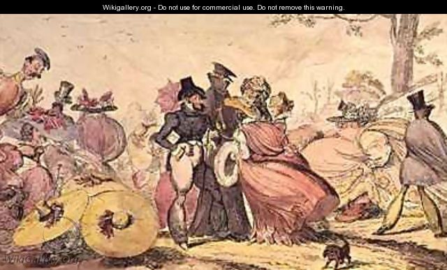 Monstrosities of 1825 and 1826 - George Cruikshank I