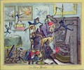 The Blue Devils - George Cruikshank I