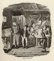 Oliver introduced to the respectable old gentleman - George Cruikshank I