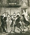 Jack Sheppard tricking Shotbolt the Gaoler - George Cruikshank I