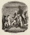 Olivers reception by Fagin and the boys - George Cruikshank I