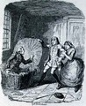 Booth discovered in the Hamper - George Cruikshank I