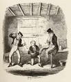 Master Bates explains a professional technicality - George Cruikshank I