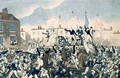 The Peterloo Massacre - George Cruikshank I