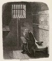 Fagin in the condemned cell - George Cruikshank I