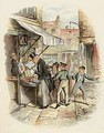 Oliver amazed at the Dodgers mode of Going to Work - George Cruikshank I
