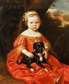 Portrait of a Girl with a Dog - Jacob Gerritsz. Cuyp