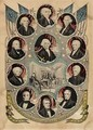 The Presidents of the United States - Nathaniel Currier