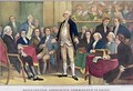 George Washington 1732-99 Appointed Commander in Chief - Currier