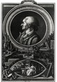 Jean-Pierre Claris de Florian 1755-94 engraved by Massol, 1785 - (after) Queverdo, Francois Maria Isidore