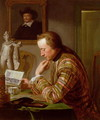 Gentleman Reading at a Table by Candlelight - Jan Maurits Quinckhardt