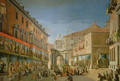 The Arch of Triumph of St. Mary in the Main Street of Madrid - Lorenzo de Quiros